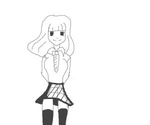 School Uniform Anime girl RP