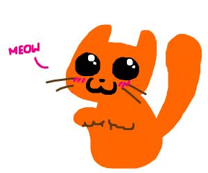 OwO blushing kitty