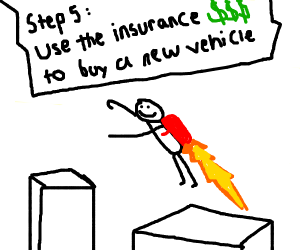 Step 4 : be happy that you crash your car