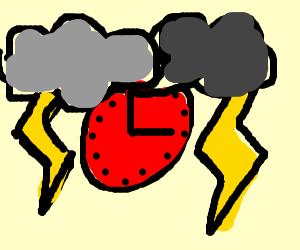thunder clock