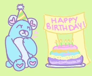 Blue bears birthday