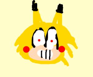 Sonic-Pikachu hybrid from my nightmares