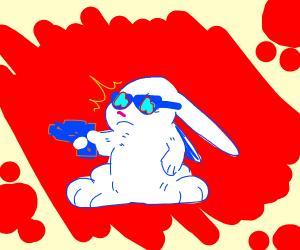 bunny got a gun