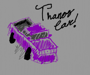 Thanos's car