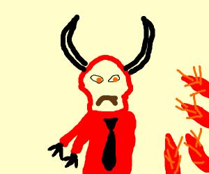 satan unsatisfied in hell