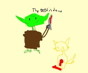 yoda killing tails