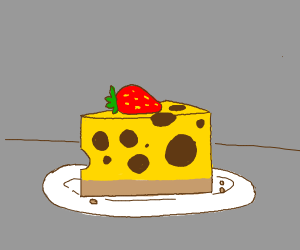 cheesecake is made from cheese