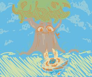 The Great Deku Tree likes Beyblades
