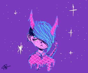 Demonic teen