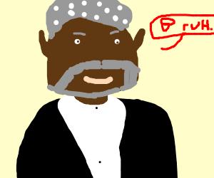 """""""bruh"""", says morgan freeman."""