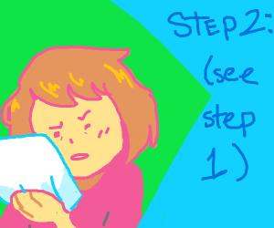 Step 1: (see step 10)