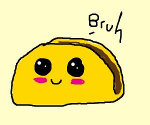 kawaii taco: BRUH