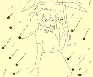 raining nesquik cereal