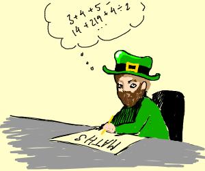 lepercon doing math