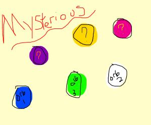 6 Mysterious Orbs