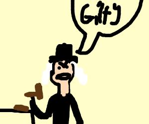 Judge wearing a Hat