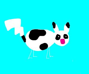 Pikachu cow