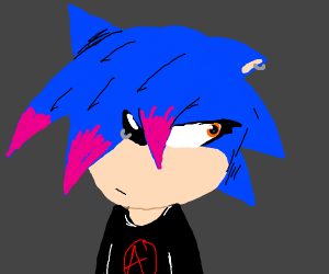 """sonic """"it's not a phase mom"""" edgehog"""