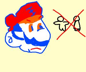 caveman hates people