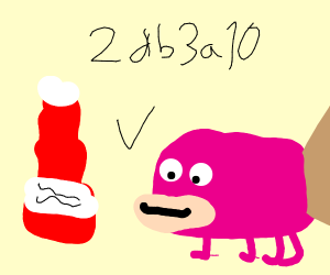 Pink Platypus gives wifi to ketchup
