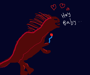 Amorous Amargasaurus