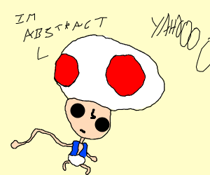Abstract Toad