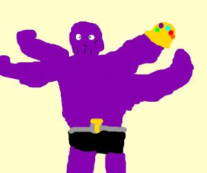 Thanos but MACHAMP