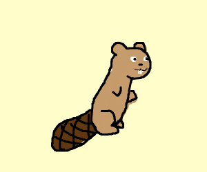 its a beaver
