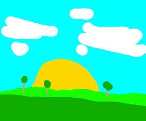 Bob ross's landscape