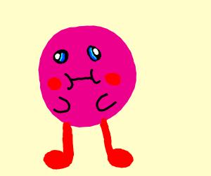 Kirby w/ long legs