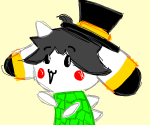 temmie puts on many costumes