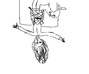 girl dunks then breaks her leg in many places