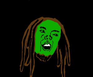 Green Bob Marley