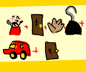 man door hand hook car door