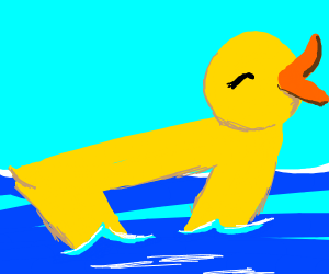 drawception duck