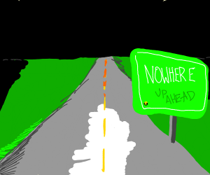 Road Sign to Nowhere