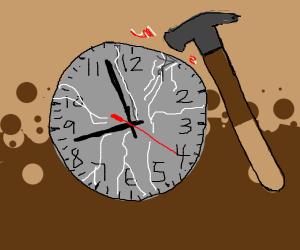 clock is a minor rule breaker