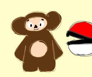 Cheburashka is the newest Pokemon!