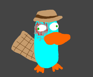 Cyborg Perry the platypus