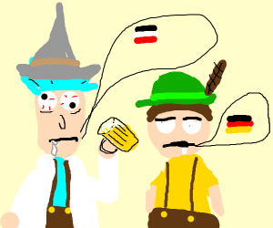 German dubbed Rick & Morty