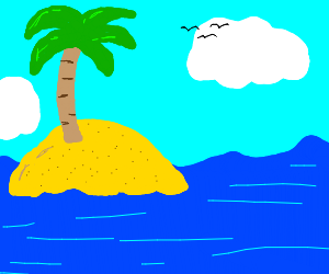 The island from spongebob