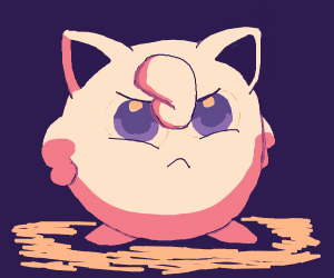 some kind of chubby pokemon