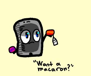 Ipad selling macarons