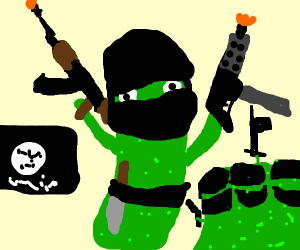 Killer pickle's coming at ya!