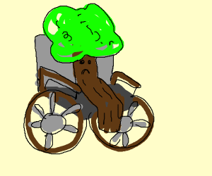 Disabled tree
