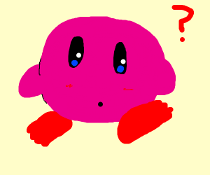 kirby with toes