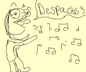 illustrate your fav vocaloid song, pass it on