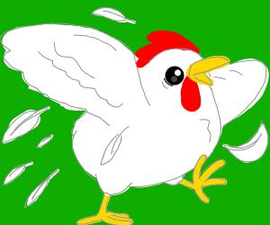 Frantic chicken