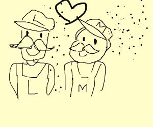 mario and luigi like being disintegrated