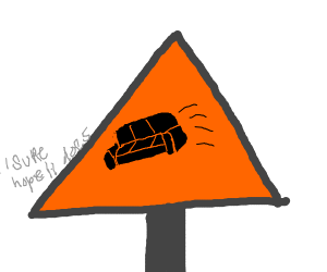 Danger: couch crossing